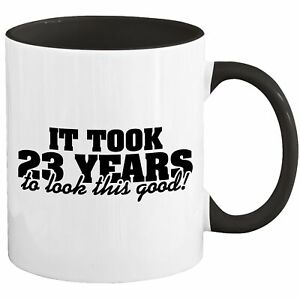 23rd Birthday Mug Coffee Cup 1998 Funny Gift For Women Men Her Him A-23A