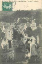 41 LAVARDIN CHATEAU ESCALIER D'HONNEUR
