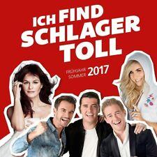 ICH FIND SCHLAGER TOLL:FRÜHJAHR/SOMMER 2017 (JÜRGEN DREWS/ANDREA BERG/) 2CD NEUF