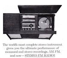 1961 Advertisement ZENITH Monoural/Stereo Radio/Phonograph Cabinet Model MH2670