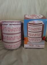 Hello Kitty french lunch picnic 3 tier box Japan toreba cute bento