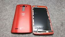 A+ Origin Front Frame Faceplate&Rear Back Cover For LG G3 VS985 Verizon Red/Tool