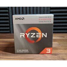 Ryzen 3 3200G avec Radeon Graphics Vega 8, 3.6ghz base,4,0 ghz max boost