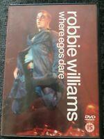 Robbie Williams - Where Egos Dare (DVD, 2000)