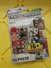 Transformers Kre-o Custom Kreon Starscream 43 Pieces NEW FREE SHIP US