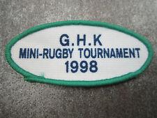 Mini Rugby 1998 Sport Cloth Patch Badge (L13K)