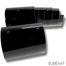 9,8?/m² Autofolie Schwarz Glanz Auto Folie Luftkanäle Klavierlack glänzend