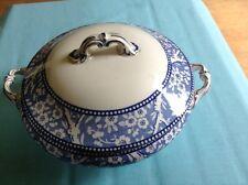 Wedgwood Hawthorn Blue and White Lidded Vegetable Tureen Lovely