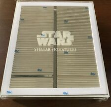 2020 Topps Star Wars Stellar FACTORY SEALED REPRODUCTION SKETCH SET #/100