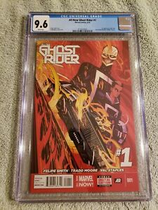 All-New Ghost Rider 1 CGC 9.6 freshly graded Marvel Comics 2014 1st Robbie Reyes