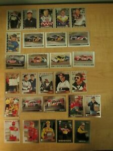 1996 Pinnacle Racing Racers Choice Artists Proof Silver Parallel Starter Set 28