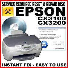 EPSON Stylus CX3100 STAMPANTE CX3200-Fault RESET disc: il servizio di riparazione FIX