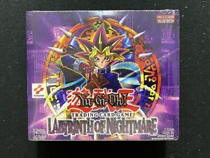 Yugioh! Labyrinth Of Nightmare Unlimited Booster Box - Factory Sealed