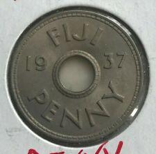 1937 Fiji Penny - Uncirculated