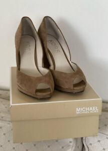 Michael Kors Brown Rochelle Wedge/ UK 8