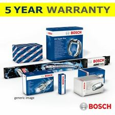 Bosch 2x Brake Drums Rear Fits Nissan Note (Mk1) 1.5 dCi UK Bosch Stockist #1