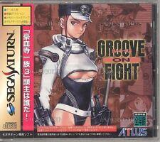 Sega Saturn GROOVE ON FIGHT Japan SS