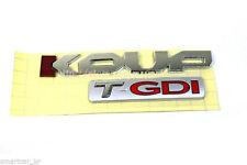 Trunk Lid KOUP T-GDI emblem for 2014 2015 2016 KIA Forte Koup / Cerato Koup