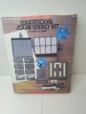 Vintage Educational Solar Energy Kit, Collector's Item
