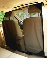 NAC&ZAC Pet Barrier Cars Suvs Trucks  High See Net Dog Hair Out Front Seat