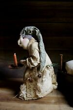 PATTERN~my primitive saltbox/OLDE SCROOGE/DOLL/CHRISTMAS/BED/CANDLE STICK/PT036