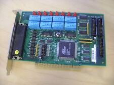 ADLINK NUDAQ PCI-7250 REV A3 PCI 8 RELAY ACTUATOR ISOLATED D/I DIGITAL I/O CARD