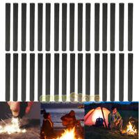 "32PCS Ferrocerium 5/16"" Flint Fire Starter Survival Magnesium Rod kits lighter"