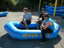 Inflatable 1.2mm PVC 4-Person MINI Floating White Water River Raft W/ Pump NEW