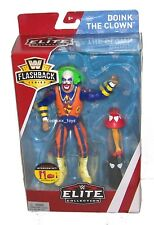 WWE WRESTLING FLASHBACK ELITE SERIES DOINK THE CLOWN BUILD INTERVIEW SET MATTEL