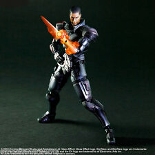 Captain Sheppard Mass Effect 3 PLAY ARTS KAI Square Enix figure Original New
