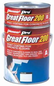 GreatFloor-200; Epoxy flooring for concrete garages, driveways, warehouse...