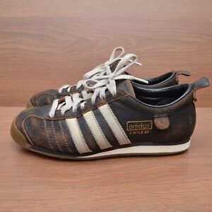 Adidas Chile 62 Mens Womens Shoes  Brown Suede sz US 6.5 / UK 6 / 39.5