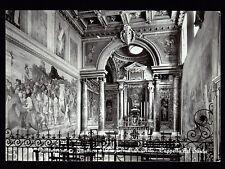 GROTTAFERRATA ROMA CARTOLINA BASILICA ABBAZIALE DI S. NILO CAPPELLA FG VG 1957