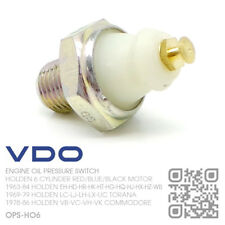 VDO OIL PRESSURE SWITCH 6 CYLINDER 149-161-179-186 RED MOTOR [HOLDEN EH-HD-HR]