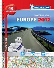 ATLANTE STRADALE EUROPA Michelin Spirale A4 2017