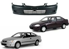 Replacement Front Bumper Cover For 1999-2000 Honda Civic New Free Shipping USA