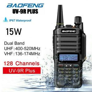UV-9R 15W Plus Baofeng  VHF UHF Walkie Talkie Dual Band Handheld Two Way Radio