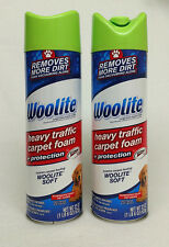 2 Woolite Heavy Traffic Carpet Foam + Protection Eliminates Tough Pet Odors 1 Lb