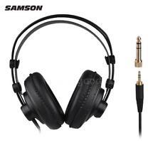 SAMSON SR850 Professional Studio Reference Monitor Headphones Headset T1N1