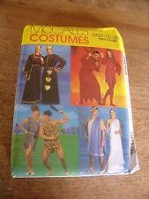 """PATRON  """"McCALL'S COSTUMES DIABLE/ROI REINE/ROMAIN/H CAVERNE XS/S/M/L/XL"""