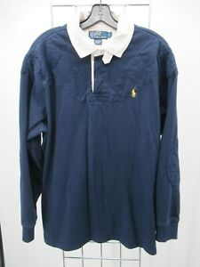 H2663 Men's Polo Ralph Lauren Polo Sweatshirt Shirt Size L