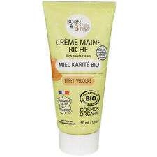 Born to Bio - Crème mains Riche miel karité bio - 50ml - cosmetique Bio