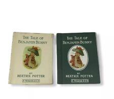 The Tale Of Benjamin Bunny By Beatrix Potter Book 4 Dust Jacket HC 1932 VTG