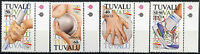 Tuvalu 1992 SG#647-650 Olympic Games MNH Set #A86390