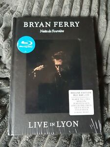 Bryan Ferry Live In Lyon Deluxe Edition [Blu-ray Music + CD] [2013] new & Sealed