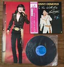 Donny Osmond - To You With Love, Donny  JAPAN LP w/poster, obi CD-7031-IN