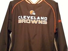 Classic Cleveland Browns Spring / Fall Pullover Jacket by Reebok, Adult Medium