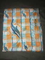 Miami Dolphins Sheer Infinity Scarf NFL Football New Womens
