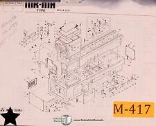 Mori Seiki MR-MH, Lathe Parts List and Assemblies Manual