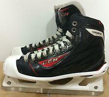 CCM RBZ Mens Pro Stock Hockey Goalie Skates Size 9 D 5567